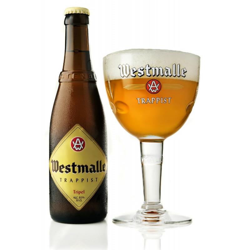 Westmalle tripel (33 cl., 9,5%)