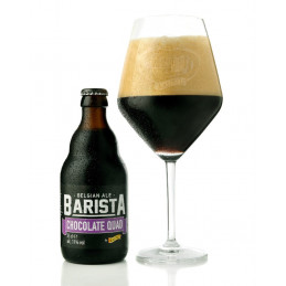 Barista Chocolate Quad (11%, 33cl)